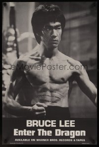 0865UF ENTER THE DRAGON soundtrack poster '73 Bruce Lee kung fu classic that made him a legend!