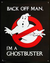 1119UF GHOSTBUSTERS 22x28 special poster '84 Ivan Reitman, back off man, I'm a Ghostbuster!