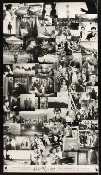 1269UF HOLLYWOOD ENDING advance special 28x50 '02 Woody Allen, final frames from 52 different movies