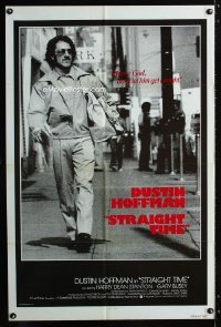 0765FF STRAIGHT TIME int'l 1sh '78 great different full-length image of Dustin Hoffman!