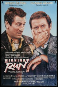 2438 MIDNIGHT RUN half subway '88 Robert De Niro with Charles Grodin who stole $15 million!