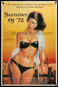 1484FF SUMMER OF '72 1sh '82 artwork of ultra sexy Loni Sanders wearing nearly nothing!