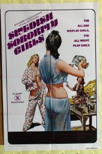 395FF SWEDISH SORORITY GIRLS 1sh'77 sexy Heather Young!