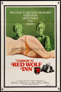 1491TF TERROR AT RED WOLF INN 1sh '72 cannibals, guess what we're having for dinner!