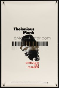1633UF THELONIOUS MONK: STRAIGHT, NO CHASER int'l 1sh '89 Clint Eastwood produced jazz bio!