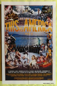 417FF THIS IS AMERICA 2 1sheet '77 wild shock-umentary!