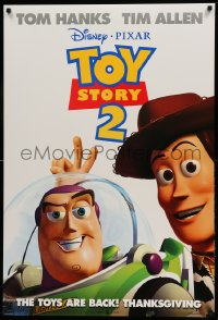 2399UF TOY STORY 2 advance DS 1sh '99 Woody, Buzz Lightyear, Disney and Pixar animated sequel!