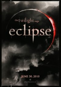 2407UF TWILIGHT SAGA: ECLIPSE teaser DS 1sh '10 vampires & werewolves from Stephanie Meyer's novel!