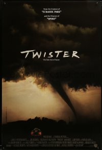 2408UF TWISTER int'l 1sh '96 storm chasers Bill Paxton & Helen Hunt, cool tornado image!