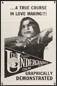 1495TF UNDERGRADUATE 1sh '71 a true course in love making by Ed Wood, graphically demonstrated!