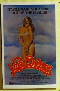 447TF VIRGIN DREAMS one-sheet '77 sexy Jean Jennings!