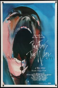 1638UF WALL int'l 1sh '82 Pink Floyd, Roger Waters, classic Gerald Scarfe rock & roll artwork!