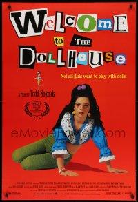 2417UF WELCOME TO THE DOLLHOUSE 1sh '95 directed by Todd Solondz, wacky coming-of-age comedy!