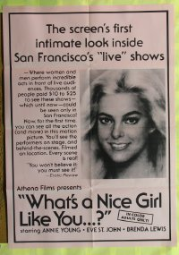 459FF WHAT'S A NICE GIRL LIKE YOU 1sh'70s San Francisco