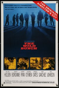 2422UF WILD BUNCH 1sh R95 Sam Peckinpah cowboy classic, Holden, the original director's cut!