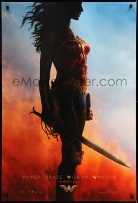 2657UF WONDER WOMAN teaser DS 1sh 2017 sexy Gal Gadot in title role/Diana Prince, profile image!