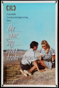 2428UF YEAR MY VOICE BROKE 1sh '87 Noah Taylor, Loene Carmen, Australian coming of age movie!
