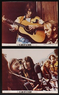 1198 CELEBRATION AT BIG SUR 8 deluxe color 11x14 stills '71 Joan Baez, Crosby, Stills, Nash & Young