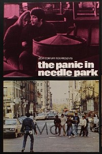 1200 PANIC IN NEEDLE PARK 8 deluxe color 10.5x14 stills + TC '71 Al Pacino & Kitty Winn do heroin!