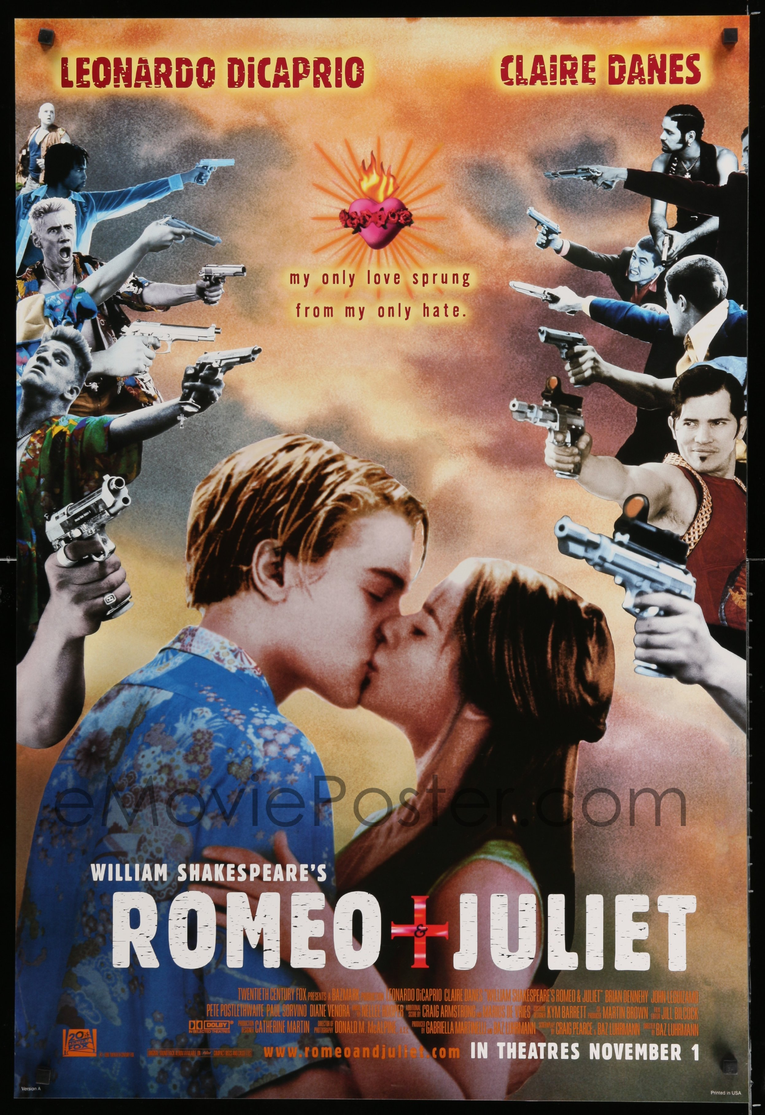 romeo juliet love from the Romeo and juliet enter above the stage 5: juliet believe me, my love romeo it was the lark, the herald of the morn.
