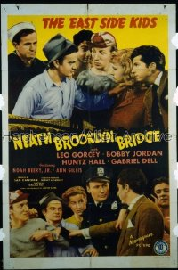 'NEATH BROOKLYN BRIDGE 1sh '42