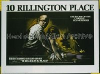10 RILLINGTON PLACE British quad '71