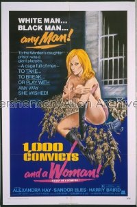 1000 CONVICTS & A WOMAN 1sh '71