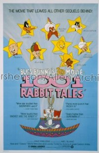1001 RABBIT TALES 1sh '82