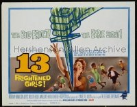13 FRIGHTENED GIRLS LC '63