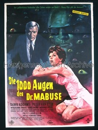 1000 EYES OF DR MABUSE German '60