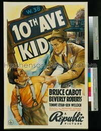 10th AVE KID 1sh '37