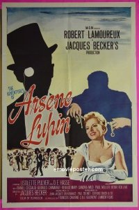 #069 ADVENTURES OF ARSENE LUPIN 1sh '57