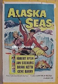 #073 ALASKA SEAS 1sh '54 Ryan, Sterling