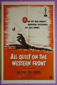 #076 ALL QUIET ON THE WESTERN FRONT 1sh R60s