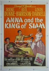 #2261 ANNA & THE KING OF SIAM linen 1sh '46
