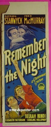 #6017 REMEMBER THE NIGHT long Aust db '40