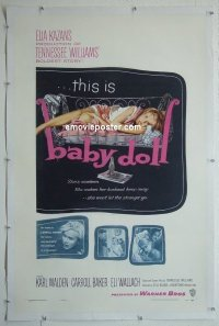 #2264 BABY DOLL linen 1sh '57 sex classic!