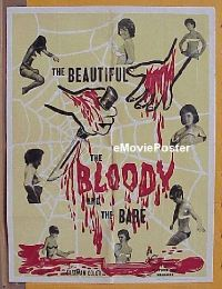 #034 BEAUTIFUL, THE BLOODY, & THE BARE 1sh 64
