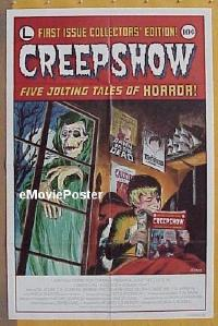 h180 CREEPSHOW one-sheet movie poster '82 George Romero, Stephen King