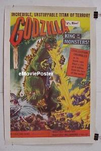 #005 GODZILLA KING OF THE MONSTERS linen1sh