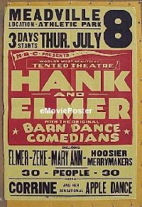 #015 HANK & ELMER 1sh '30s apple dance!