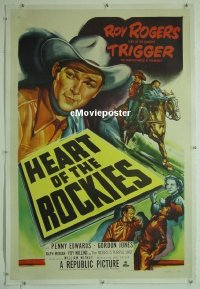 #069 HEART OF THE ROCKIES linen 1sh 51 Rogers