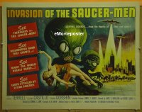 #037 INVASION OF THE SAUCER MEN 1/2sh '57 AIP