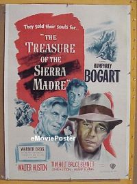#001 TREASURE OF THE SIERRA MADRE linen 1sh
