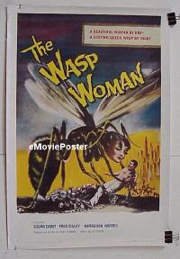 #003 WASP WOMAN linen 1sh '59 Roger Corman