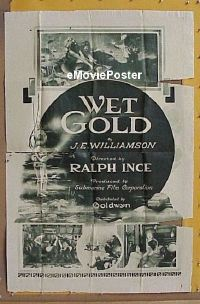 #011 WET GOLD 1sh '21 Ince, Burr