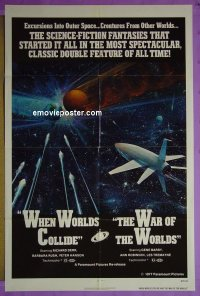 #255 WHEN WORLDS COLLIDE/WAR OF THE WORLDS