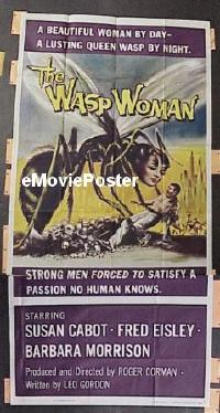 #062 WASP WOMAN 3sh '59 Roger Corman