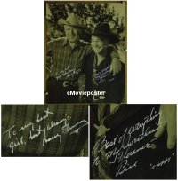 #6001 HOPALONG CASSIDY signed deluxe still