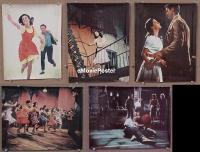 #023 WEST SIDE STORY 5 color 11x14s '61 Wood